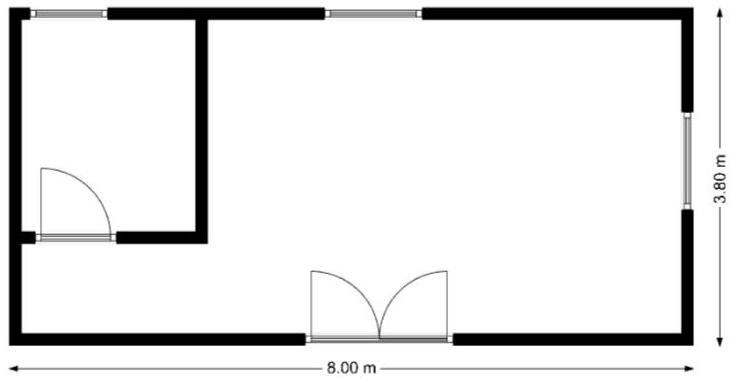 nákres MOBILNÝ DOM - BETA