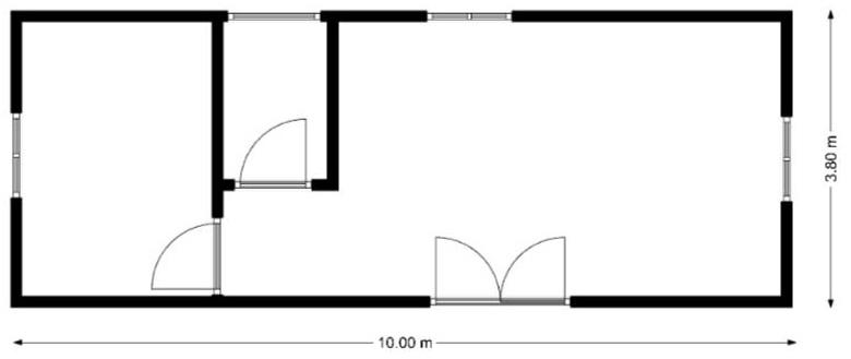 nákres MOBILNÝ DOM - GAMA