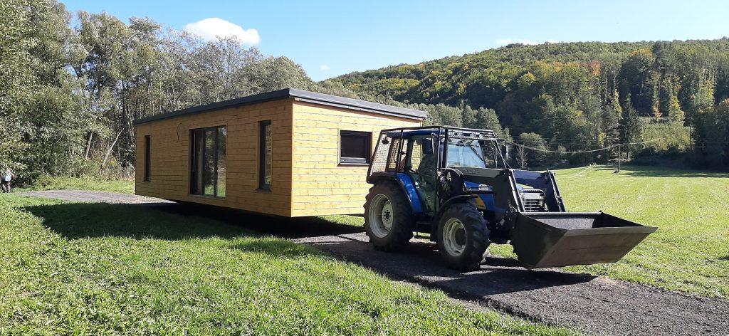 Prevoz mobilnýho domu