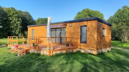 Modelový mobilný dom
